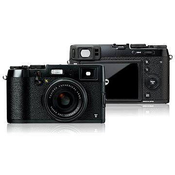 Fujifilm X100T Black + černé kožené pouzdro (70100115007) + ZDARMA Poukaz Elektronický dárkový poukaz Alza.cz v hodnotě 1000 Kč, platnost do 28/2/2017