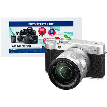 Fujifilm X-A10 + 16-50mm f/3.5-5.6 + Alza Foto Starter Kit
