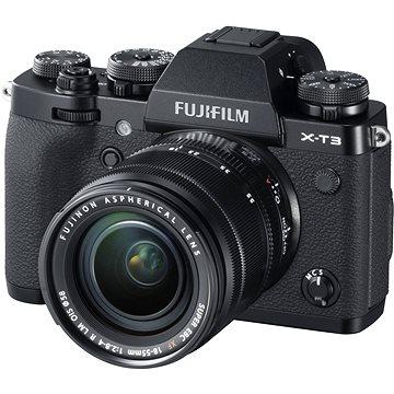 Fujifilm X-T3 černý + XF 18-55 mm R LM OIS (16588705)