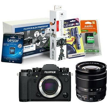 Fujifilm X-T3 černý + XF 18-55 mm R LM OIS + Fujifilm Foto Starter Kit
