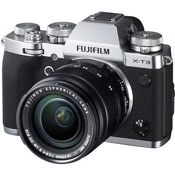 Fujifilm X-T3 stříbrný + XF 18-55 mm R LM OIS (16589254)