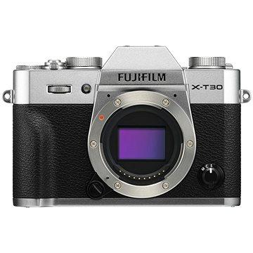 Fujifilm X-T30 tělo stříbrný (16620216)
