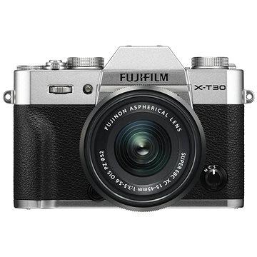 Fujifilm X-T30 stříbrný + XC 15-45mm (16619126)