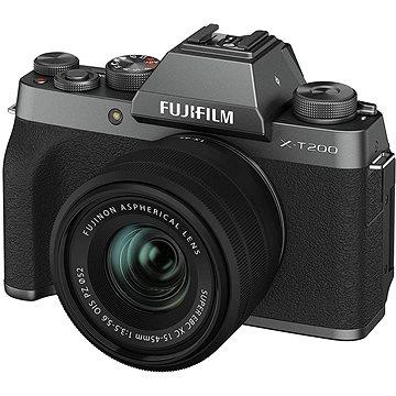 Fujifilm X-T200 + 15-45 mm tmavě stříbrný (16645955)