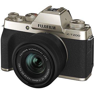 Fujifilm X-T200 + 15-45 mm zlatý (16646430)