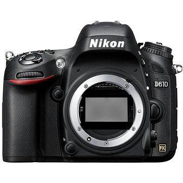 Nikon D610 (VBA430AE) + ZDARMA Grafický software Zoner Photo Studio 18 PRO