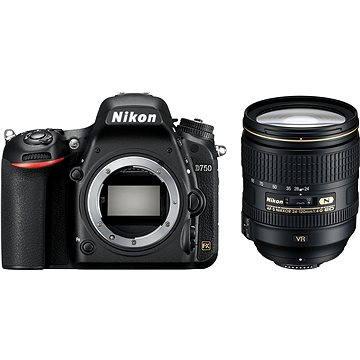 Nikon D750 + Nikkor 24-120 AF-S VR (VBA420K002) + ZDARMA Fotobatoh Rollei Canyon L - 35L šedivo-oranžový