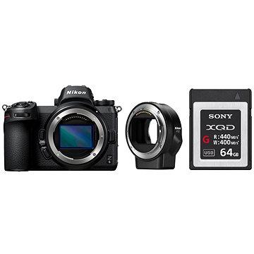 Nikon Z6 + FTZ adaptér + 64GB XQD karta (VOA020K008)