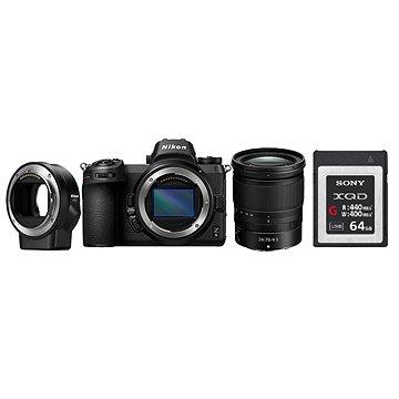 Nikon Z6 + 24-70mm+ FTZ adaptér + 64GB XQD karta (VOA020K009)