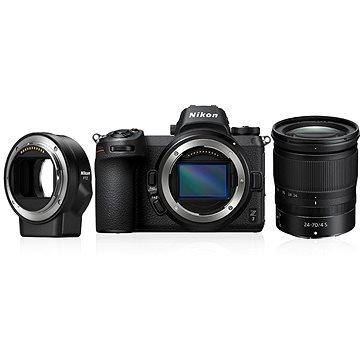 Nikon Z7 + 24-70mm + FTZ adaptér (VOA010K003)