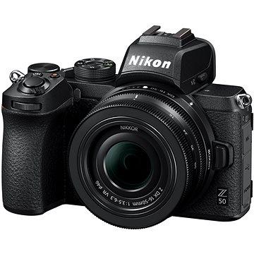 Nikon Z50 + 16-50mm + FTZ adaptér (VOA050K004)