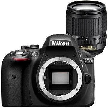 Nikon D3300 + Objektiv 18-105 AF-S DX VR (VBA390K005) + ZDARMA Paměťová karta Lexar 32GB SDHC 200x Premium (Class 10)