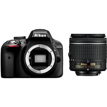Nikon D3300 + Objektiv 18-55 AF-P (VBA390K010) + ZDARMA Poukaz Elektronický dárkový poukaz Alza.cz v hodnotě 1000 Kč, platnost do 28/2/2017 Dalekohled Nikon Aculon T01 8x21 modrý