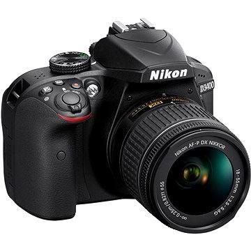 Nikon D3400 černý + 18-55mm AF-P VR (VBA490K001) + ZDARMA Grafická aplikace ZONER Photo Studio X (DE) Grafická aplikace ZONER Photo Studio X (EN)