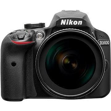 Nikon D3400 černý + 18-105mm VR (VBA490K003) + ZDARMA Párty hra Krycí jména