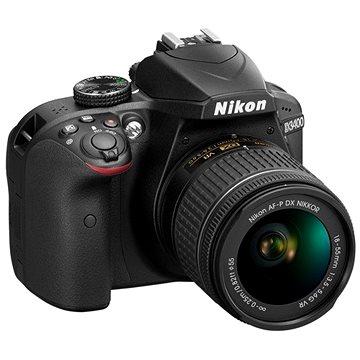 Nikon D3400 černý + 18-55mm VR + 70-300 VR + brašna + 16GB karta (VBA490K011)