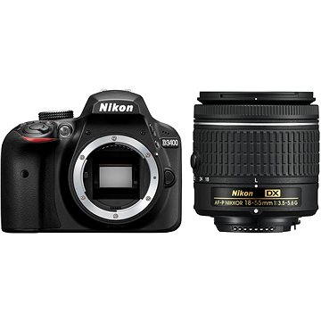 Nikon D3400 černý + 18-55mm AF-P (VBA490K002) + ZDARMA Grafická aplikace ZONER Photo Studio X (EN) Grafická aplikace ZONER Photo Studio X (DE)