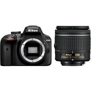 Nikon D3400 černý + 18-55mm AF-P (VBA490K002) + ZDARMA Fotobrašna Nikon CF-EU11