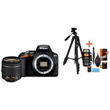 Nikon D3500 černý + 18-55mm VR + Rollei Foto Starter Kit 2