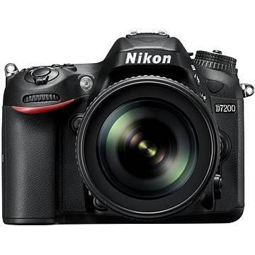 Nikon D7200 černý + objektiv 18-105 VR AF-S DX (VBA450K001)
