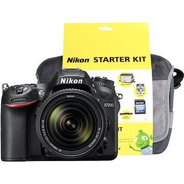 Nikon D7200 černý + objektiv 18-140 VR AF-S DX + Nikon Starter Kit + ZDARMA Grafická aplikace ZONER Photo Studio X (DE) Grafická aplikace ZONER Photo Studio X (EN)