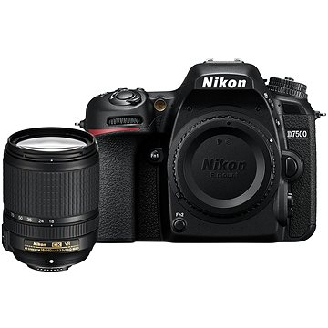 Nikon D7500 černý + objektiv 18-140mm VR (VBA510K002)