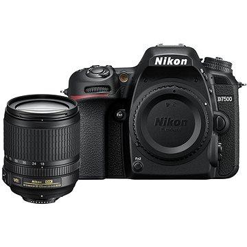 Nikon D7500 černý + objektiv 18-200mm VR (VBA510K003) + ZDARMA Grafický software Zoner Photo Studio 18 PRO