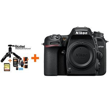 Nikon D7500 tělo + Rollei Premium Starter Kit