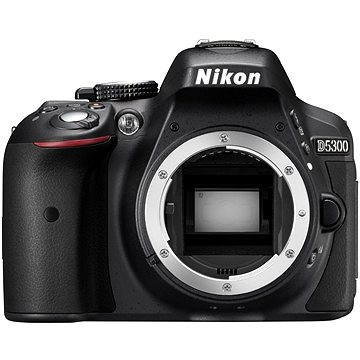 Nikon D5300 tělo černé (VBA370AE) + ZDARMA Grafická aplikace ZONER Photo Studio X (DE) Grafická aplikace ZONER Photo Studio X (EN)