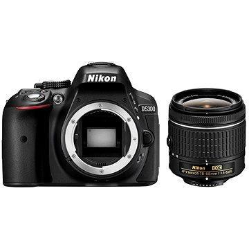 Nikon D5300 + Objektiv 18-55 AF-P (VBA370K016)
