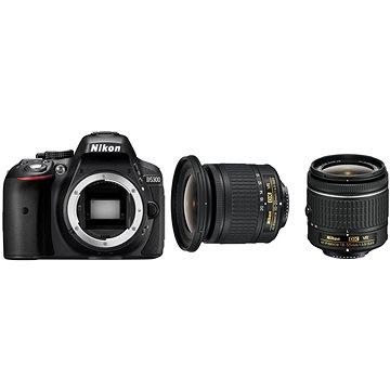 Nikon D5300 + 18-55 AF-P + objektiv 10-20mm AF-P VR