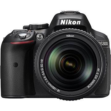 Nikon D5300 + Objektiv 18-140 AF-S VR (VBA370K002) + ZDARMA Brašna Nikon CF-EU11