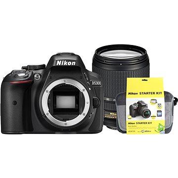 Nikon D5300 + Objektiv 18-140 AF-S VR + Nikon Starter Kit