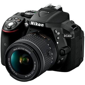 Nikon D5300 + Objektiv 18-55 AF-P VR (VBA370K007) + ZDARMA Brašna Nikon CF-EU11
