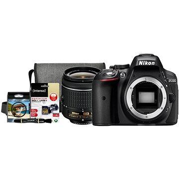 Nikon D5300 + Objektiv 18-55 AF-P VR + Nikon Starter Kit