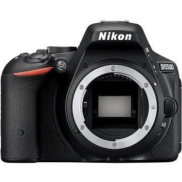 Nikon D5500 černá BODY (VBA440AE)