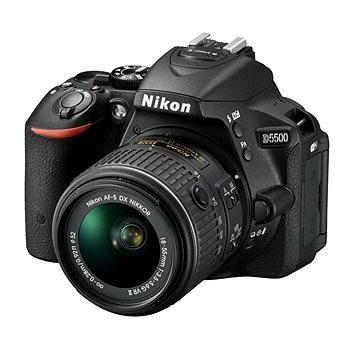 Nikon D5500 + Objektiv 18-55 AF-P VR + 55-200 VR II (VBA440K007)