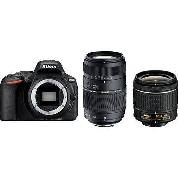 Nikon D5500 + Objektiv 18-55 AF-P VR + Tamron 70-300 Macro