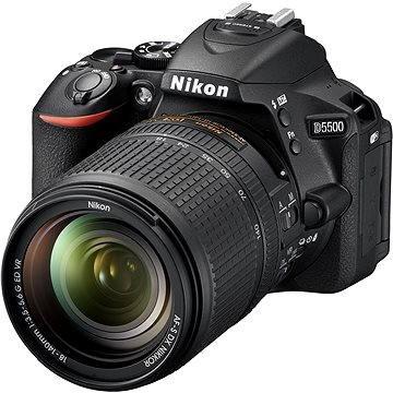 Nikon D5500 + Objektiv 18-140 AF-S DX VR (VBA440K005) + ZDARMA Grafická aplikace ZONER Photo Studio X (DE) Grafická aplikace ZONER Photo Studio X (EN)