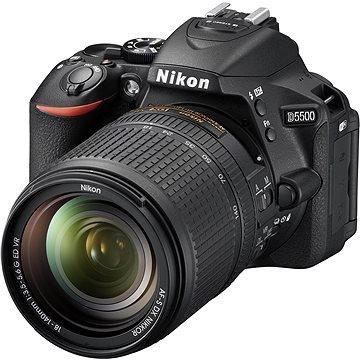 Nikon D5500 + Objektiv 18-140 AF-S DX VR + Nikon Starter Kit + ZDARMA Grafická aplikace ZONER Photo Studio X (DE) Grafická aplikace ZONER Photo Studio X (EN)