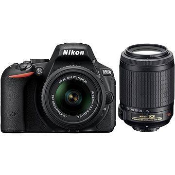 Nikon D5500 + Objektivy 18-55 AF-S DX VR II + 55-200mm AF-S DX VR II (VBA440K002)