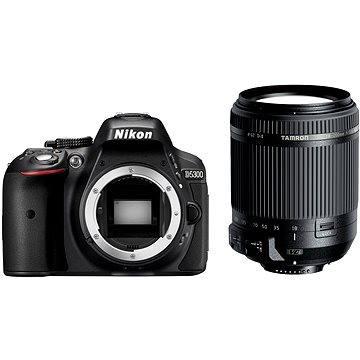 Nikon D5300 černý + Tamron 18-200mm F3.5-6.3 Di II VC