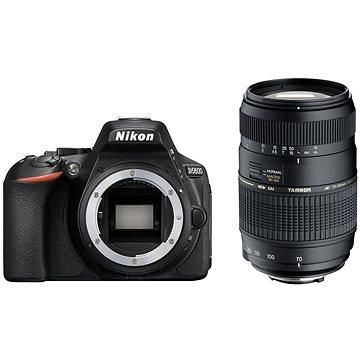Nikon D5600 černý + TAMRON AF 70-300mm f/4.0-5.6 Di pro Nikon LD Macro 1:2