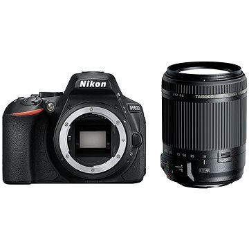 Nikon D5600 černý + TAMRON AF 18-200mm f/3.5-6.3 Di II VC pro Nikon