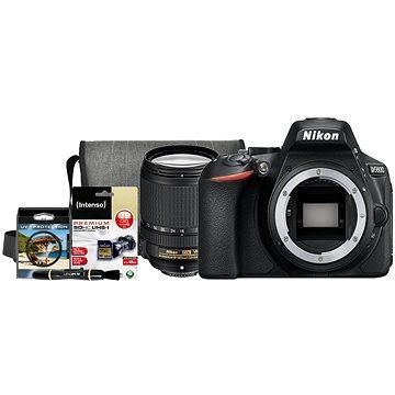 Nikon D5600 + 18-140mm F3.5-5.6 VR + Nikon Starter Kit + ZDARMA Grafická aplikace ZONER Photo Studio X (DE) Grafická aplikace ZONER Photo Studio X (EN)