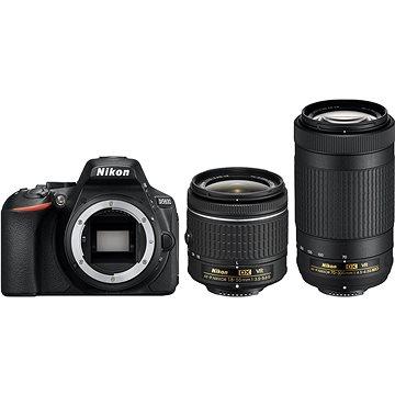Nikon D5600 + AF-P 18-55mm VR + 70-300mm VR (VBA500K004)
