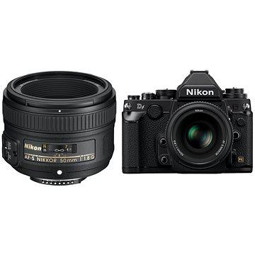 Nikon DF tělo černé + objektiv Nikkor G 50mm f/1,8 AF-S (VBA380K001)