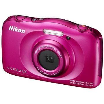 Nikon COOLPIX S33 růžový (VNA852E1)