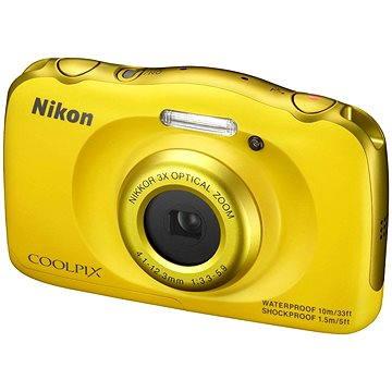 Nikon COOLPIX S33 žlutý (VNA853E1)