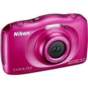 Nikon COOLPIX S33 pink backpack kit (VNA852K001)